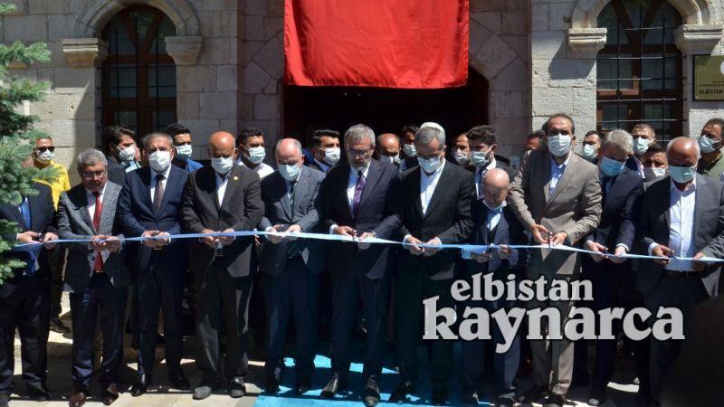 Elbistan Şehir Müzesi törenle açıldı