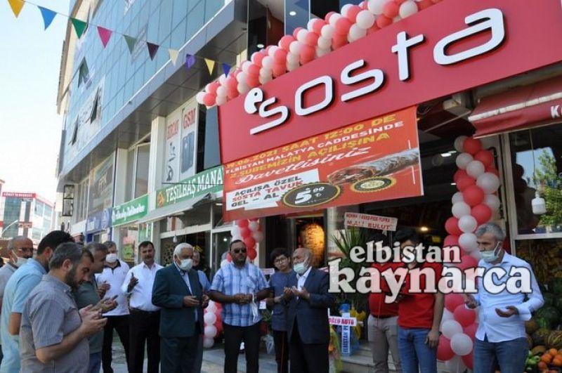 Sosta Döner 2. şubesi törenle hizmete açıldı