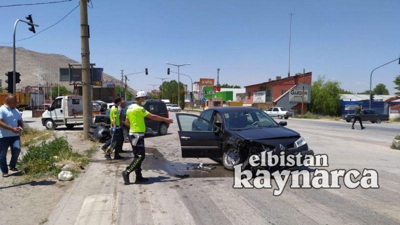 Sanayi kavşağında kaza: 4 yaralı