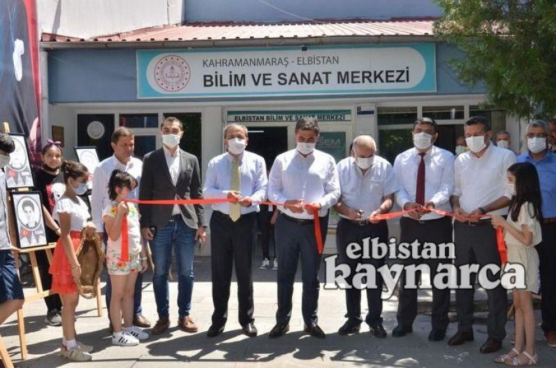 BİLSEM'li öğrenciler resim sergisi açtı