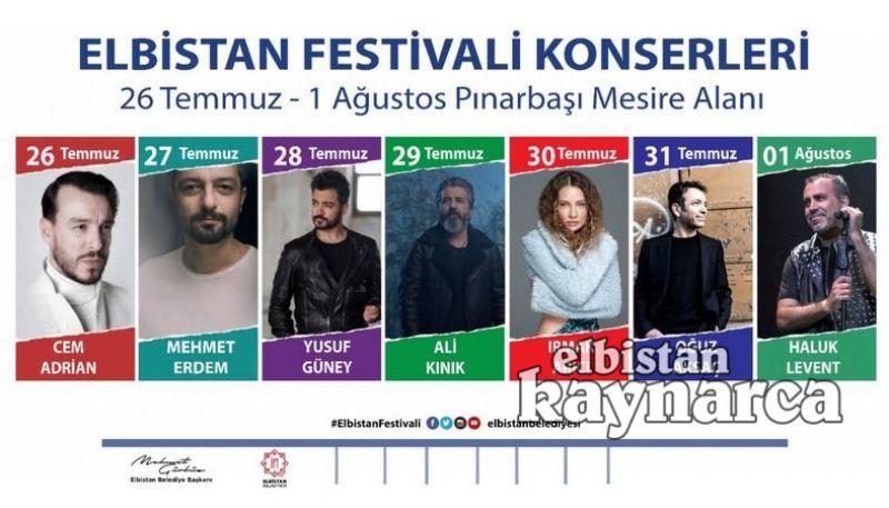 Elbistan, Türkiye'nin en büyük müzik festivallerinden birine hazırlanıyor