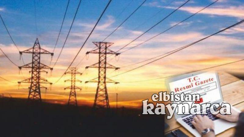 Elbistan'da enerji iletim hattı için acele kamulaştırma kararı