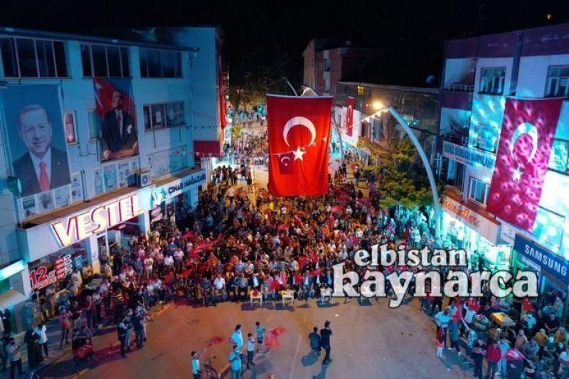 Elbistan'dan 'Türkiye Geçilmez' mesajı