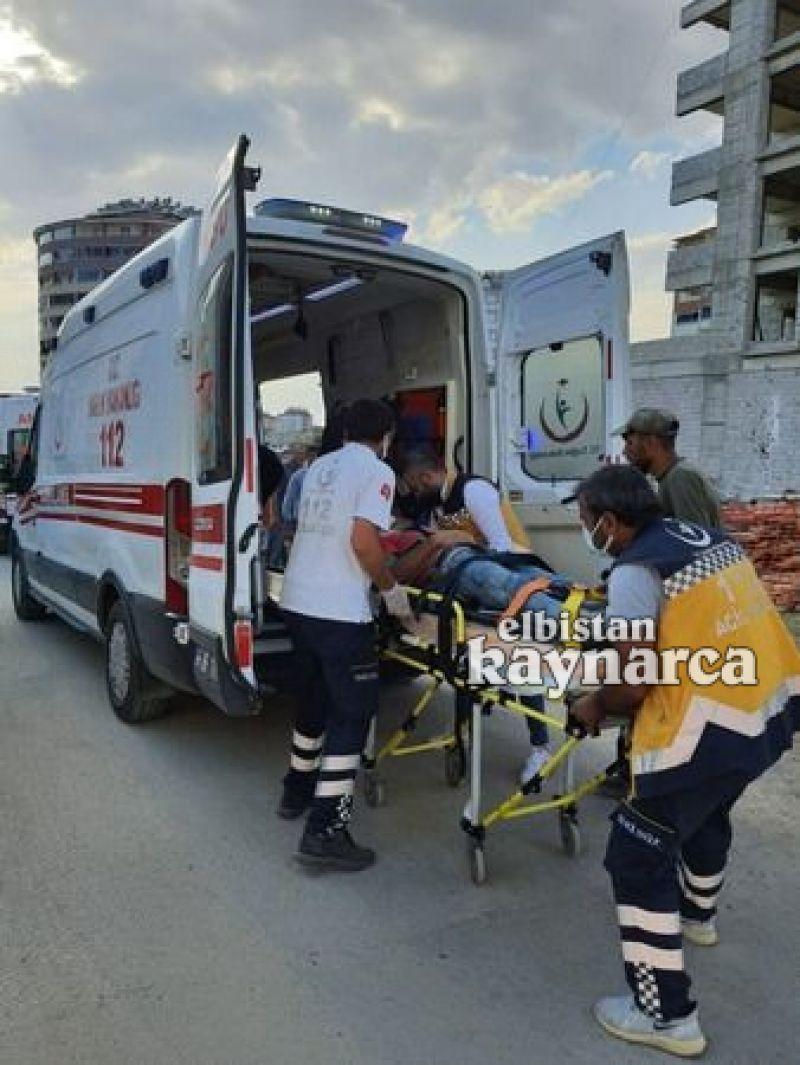 Çalıştığı inşaatın 4.katından düşen işçi ağır yaralandı