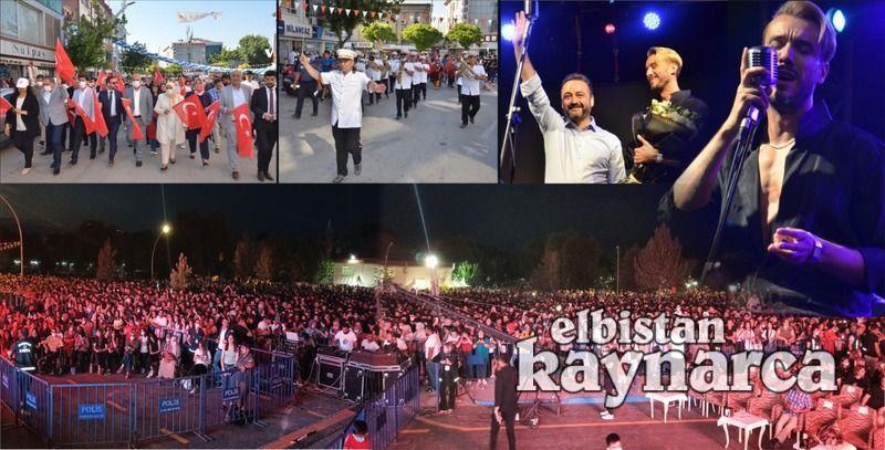 Cem Adrian Elbistan'ı salladı, on binler festival alanına akın etti