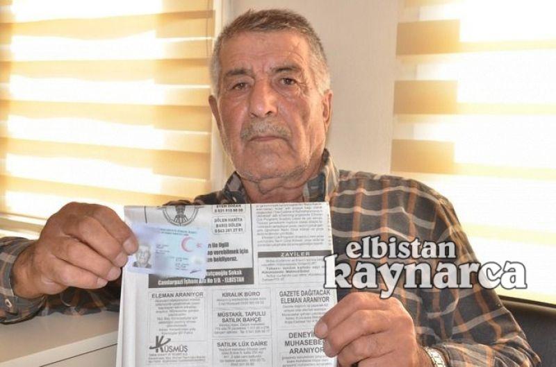 Kimliğini kaybeden çiftçiye İstanbul'dan borç şoku