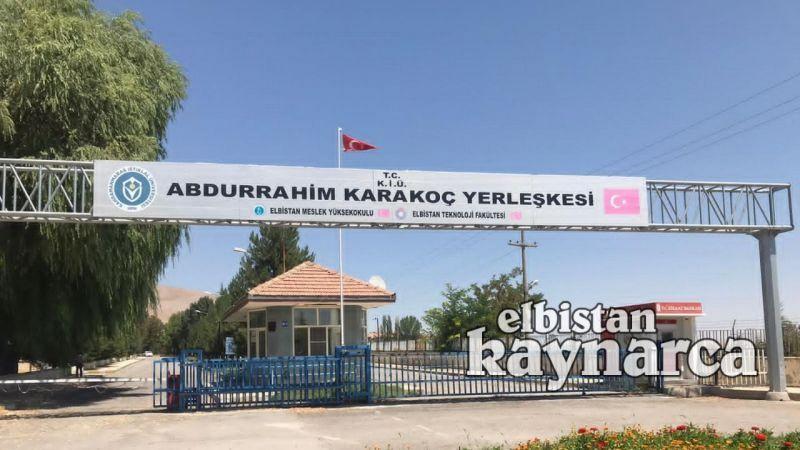 KİÜ, Elbistan'da 3 yeni programa öğrenci alıyor