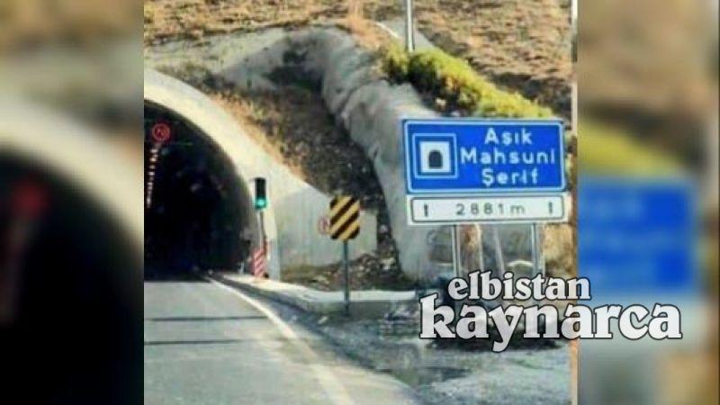 Göksun'la Mahzuni Şerif Tüneli arasındaki yol için adım atıldı