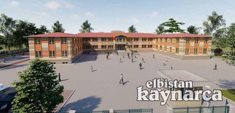 Büyükyapalak yeni okuluna kavuşuyor