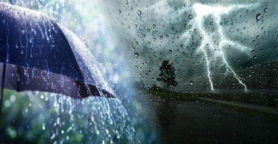 Gök gürültülü sağanak yağış devam edecek