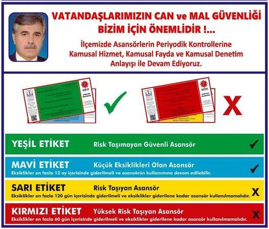 Türkmen'den asansörlere periyodik bakım ve kontrol uyarısı