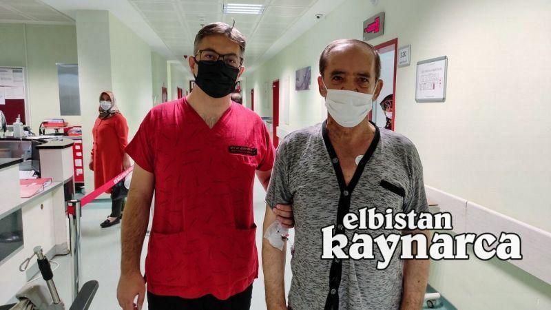 Elbistanlı hasta, endoskopik damar çıkarma yöntemiyle sağlığına kavuştu