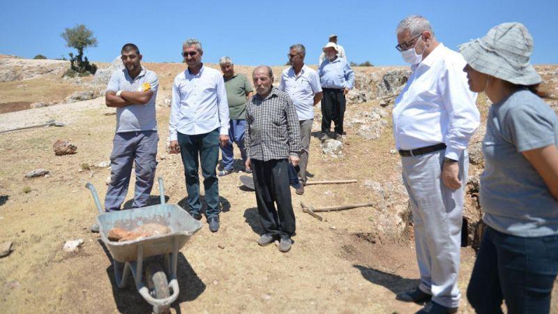 Kahramanmaraş'taki Kırk Mağaralar'da kazı çalışmaları başladı
