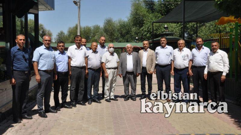 Ziraat Odası Başkanları Elbistan'da buluştu