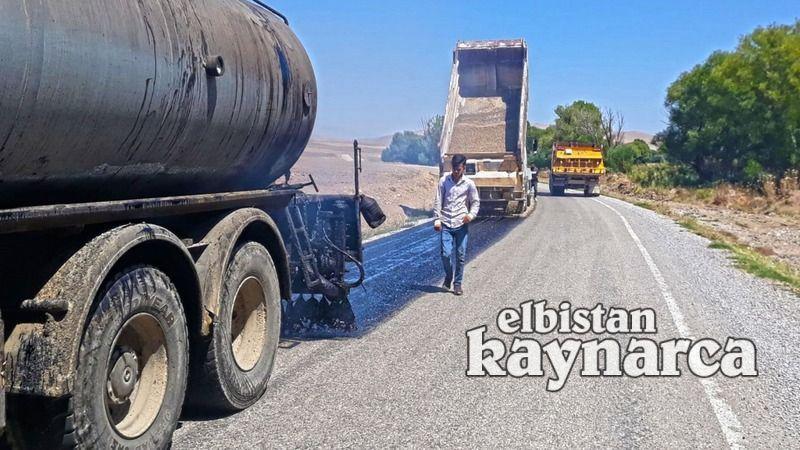 Büyükşehir ekiplerinden 2 kırsal mahallede asfalt çalışması