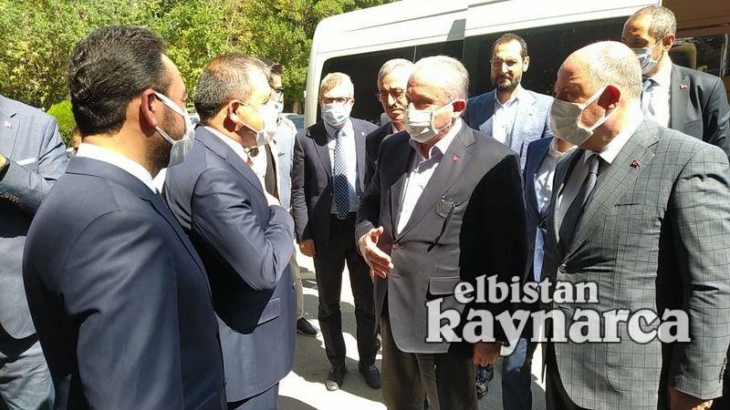 TBMM Başkanı Şentop'tan 35 yıl önce görev yaptığı Elbistan'a özel ziyaret