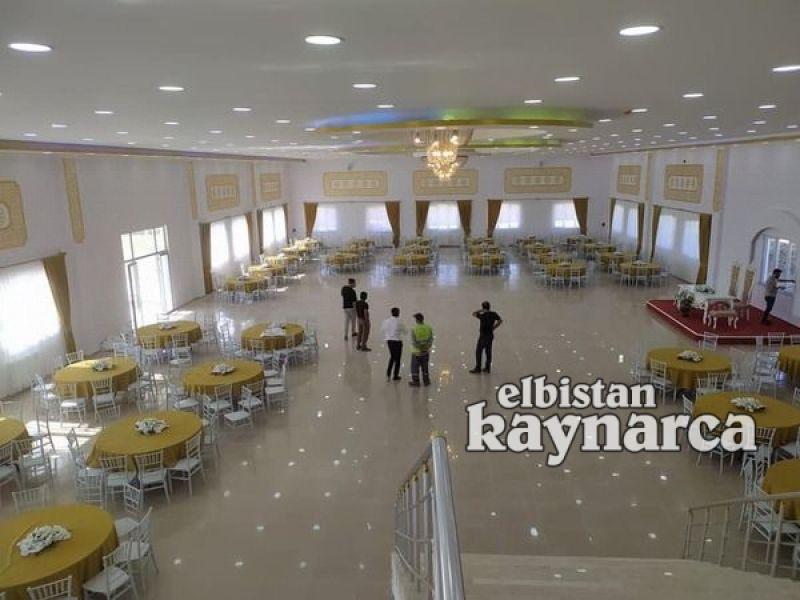 Ekinözü Belediyesi düğün salonu hizmete açıldı