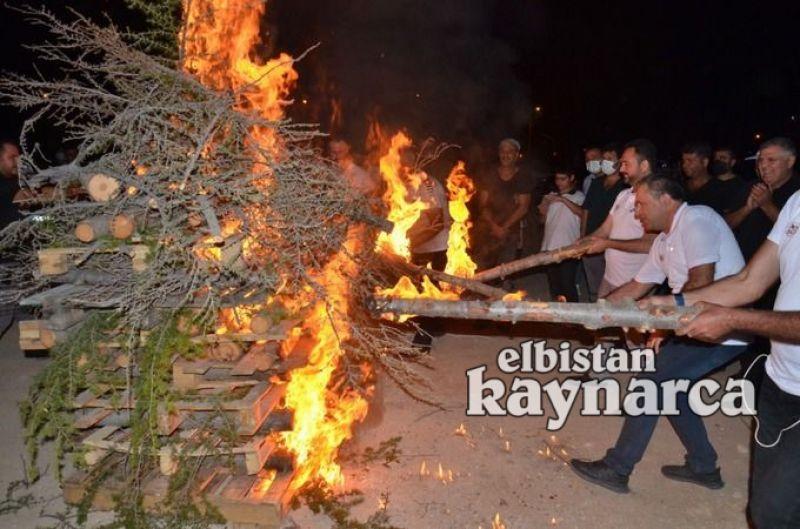 Off-road Şenlikleri kapsamında kamp ateşi yakıldı