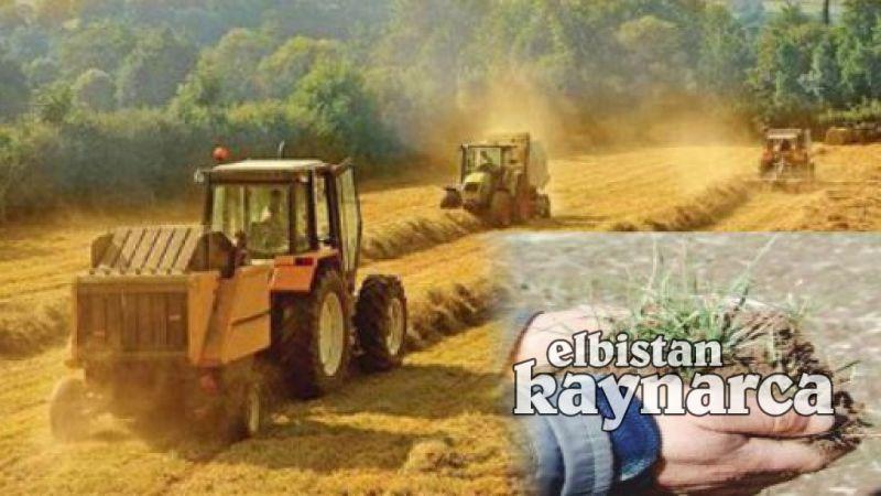 Kuraklığın vurduğu Elbistan çiftçisine dekara 50 lira destek gözüktü