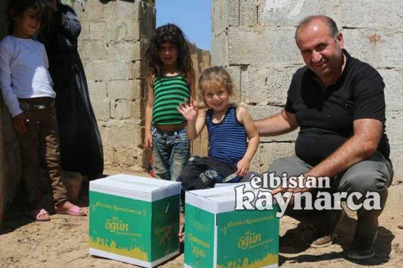Evcihüyük'ten Suriye'ye yardım eli