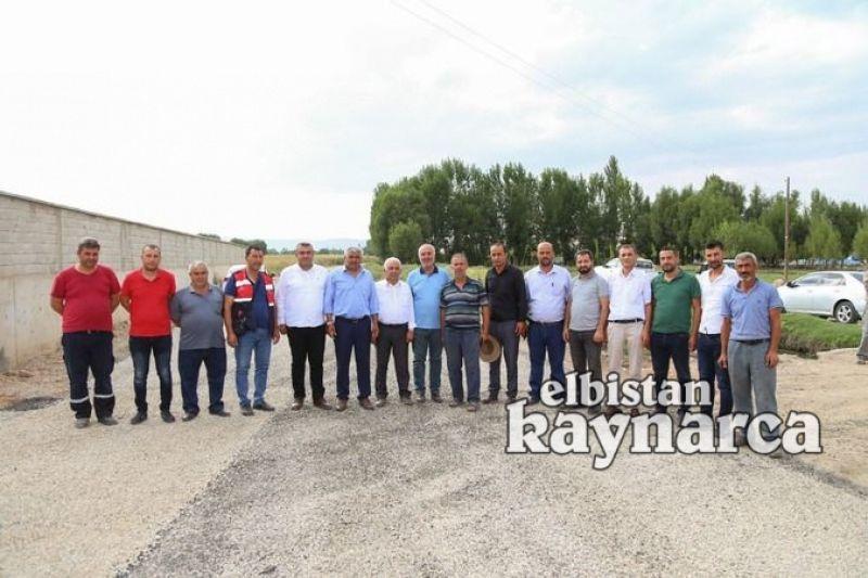 8 kırsal mahallenin kullandığı bağlantı yolu asfaltlandı