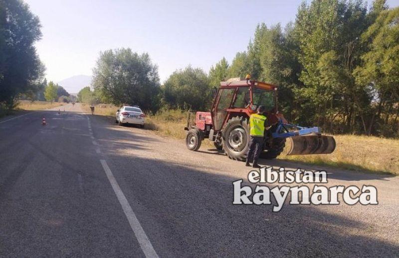 Jandarma trafikten traktör ve motosiklet denetimi