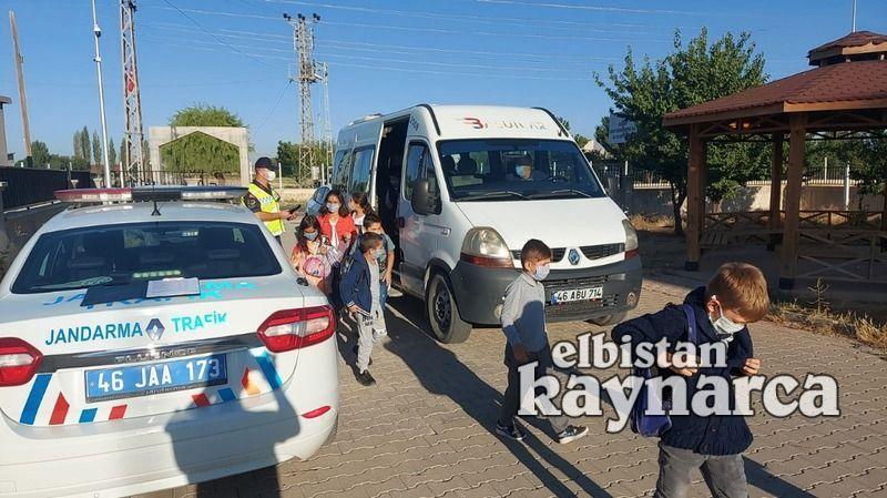 Jandarma trafikten servis denetimi