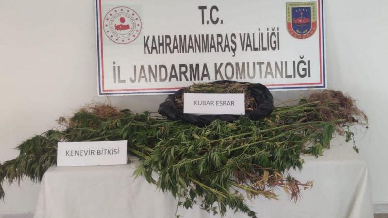 Kahramanmaraş'ta uyuşturucu operasyonunda bir kişi gözaltına alındı