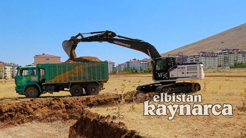 Afşin'e Millet Bahçesi yapılıyor