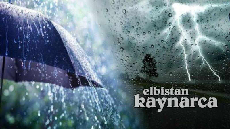 Gök gürültülü sağanak yağış kapıda