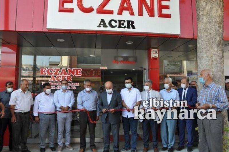 Eczane Acer, törenle hizmete açıldı