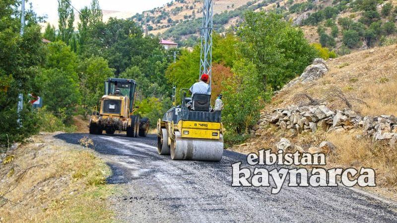 Büyükşehir, Ekinözü'ndeki yatırımlarına devam ediyor