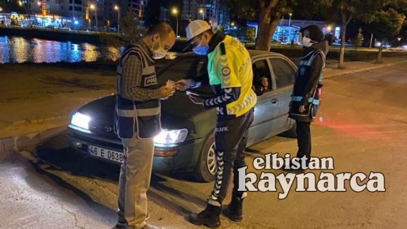 Elbistan'da 250 polisle 'Huzur-Güven' uygulaması