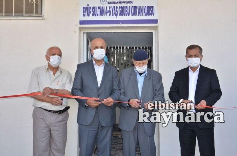 Hayırsever vatandaşın yaptırdığı 4-6 yaş Kuran kursu açıldı