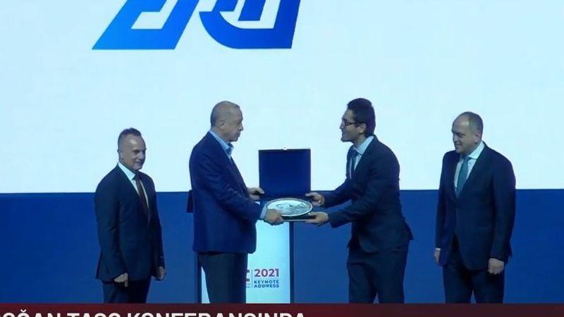 Cumhurbaşkanı Erdoğan'dan Elbistanlı yazılım mühendisine ödül