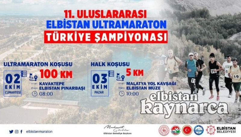 Elbistan, Ultramaraton Türkiye Şampiyonası'na hazır