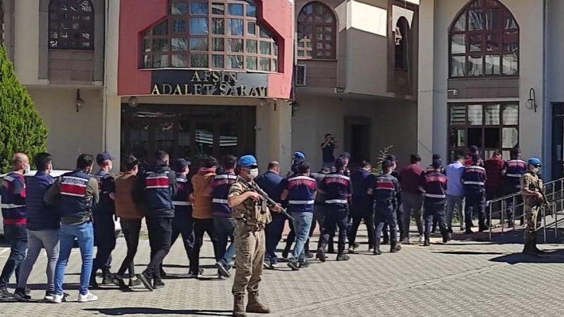 Kahramanmaraş'ta hırsızlık zanlısı 2 kişi tutuklandı