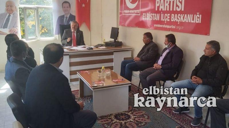 Yeniden Refah Partisi'nden muhtarlarla istişare toplantısı