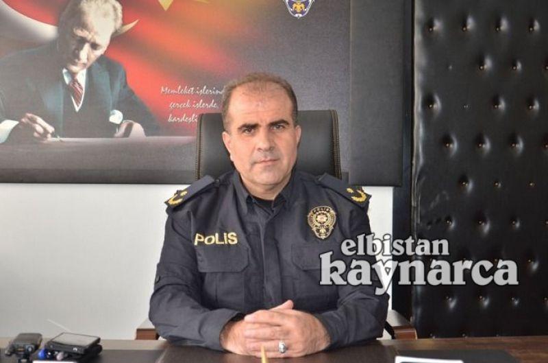 Elbistan İlçe Emniyet Müdürlüğü'ne atanan Mehmet Ali Kayhan, görevine başladı