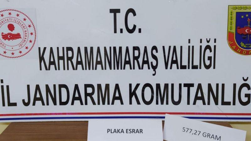 Kahramanmaraş'ta uyuşturucu operasyonunda 3 zanlı yakalandı