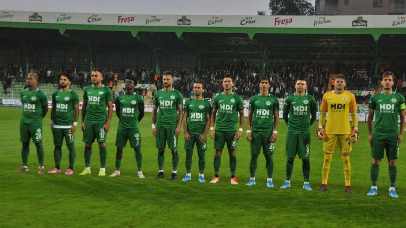 Giresunspor'da 6 futbolcu kalan maçlarda yer almayacak