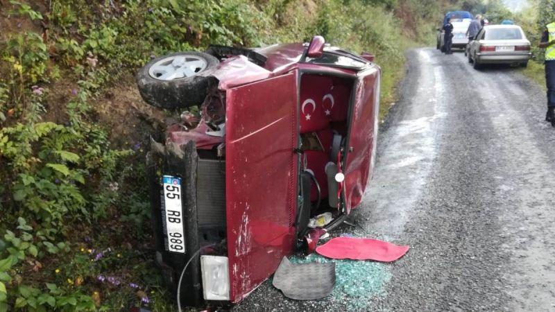 İki ayrı trafik kazasında 4 kişi yaralandı