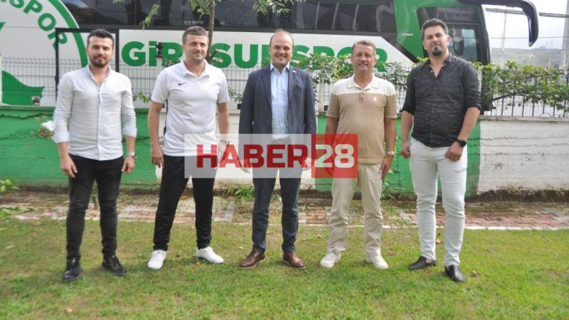 Giresunspor'a başarılar diledi