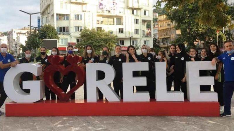 Görele Belediyespor, Aksaray'ı gözüne kestirdi