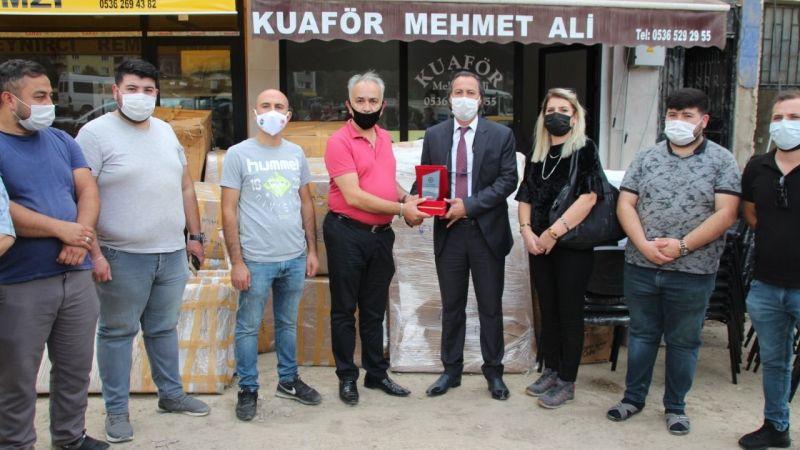 Vanlı berber ve kuaförlerden Giresun'daki afetzede meslektaşlarına yardım