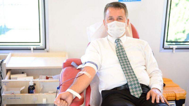 Giresunspor'dan Kızılay'a kan bağışına destek