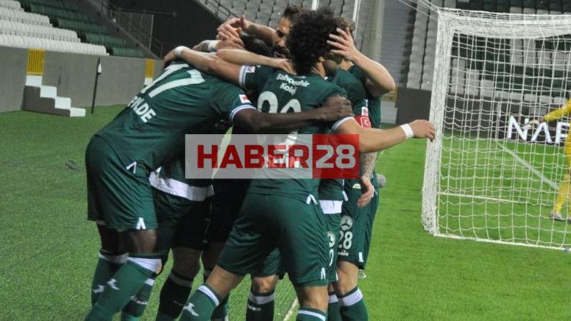 Giresunspor: 2 - Bursaspor: 1
