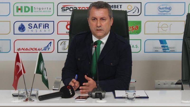 """Karaahmet: """"Giresunspor'un bütün sorumluluğu bana ait"""""""