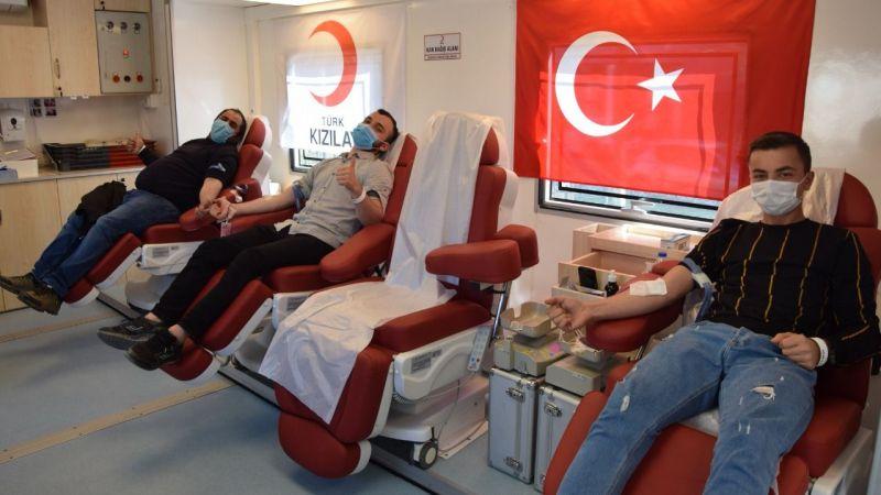 Espiye ilçesinde kan bağışı kampanyası