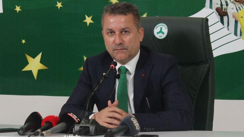 """Hakan Karaahmet: """"Giresunspor'un yeni bir kadrosu olacak"""""""